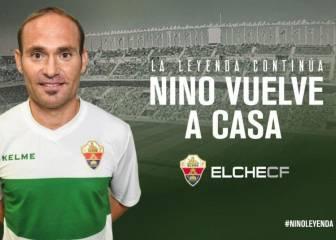 Nino regresa al Elche diez años después de su marcha
