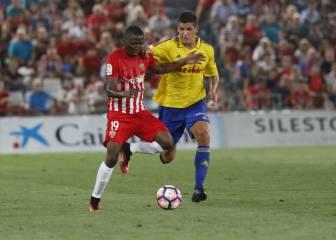 Almería y Cádiz empatan el duelo andaluz de la temporada