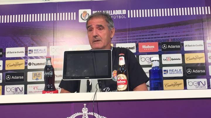 Herrera vuelve a pedir un punta antes de debutar ante el Oviedo