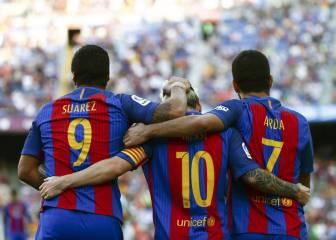 La goleada del Barcelona al Betis en imágenes