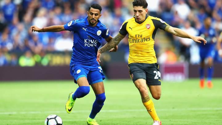 Leicester y Arsenal no arrancan