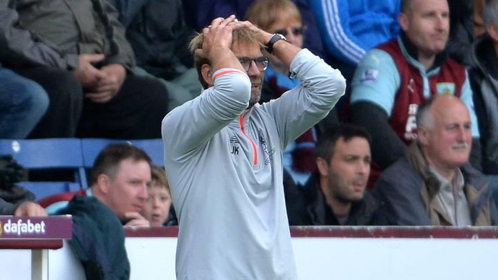 El Liverpool de Klopp se estrella ante el recién ascendido Burnley