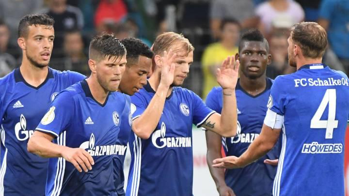 El Schalke y el Colonia golean en la Copa de Alemania