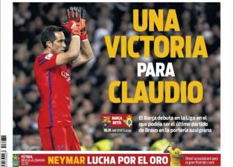 Prensa catalana: Bienvenida a la Liga, despedida a Bravo