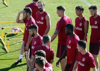 Simeone convoca a 19 jugadores: no está Vrsaljko