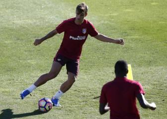 El Atlético sin Griezmann: dos victorias y tres empates
