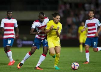 Granada y Villarreal merecieron mejor suerte en Los Cármenes