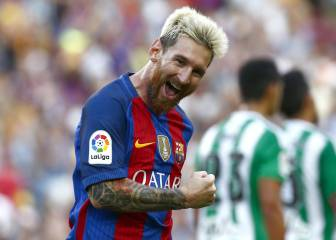 1x1 del Barça: Messi está famélico y el Barça, demoledor