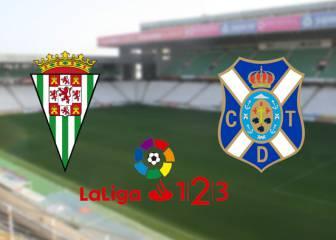 Córdoba 1 - 0 Tenerife: resumen, resultado y goles del partido