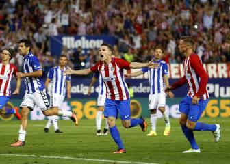 Atlético de Madrid-Alavés en imágenes