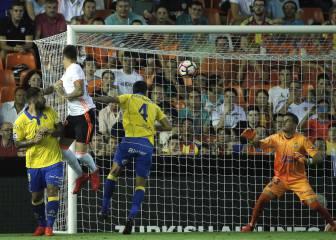 Valencia 2 - 4 Las Palmas: resumen, resultado y goles