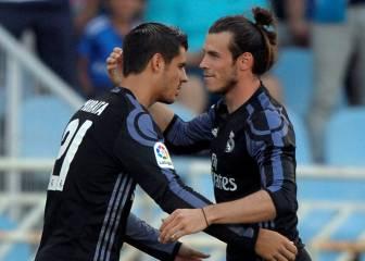Bale continúa con su racha: siempre marca en Anoeta