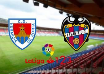 Numancia 0 - 1 Levante: Resumen, goles y resultados