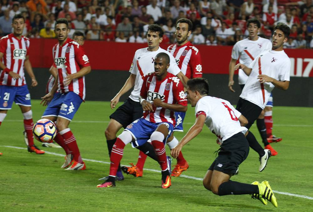Sevilla Atlético 3-3 Girona  resumen 09aa290029db5