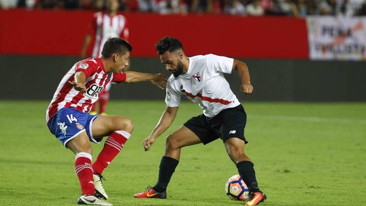 El Girona remonta tres goles en el Sánchez Pizjuán