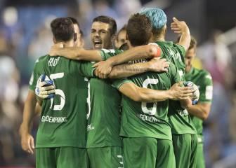 Histórico debut del Leganés en Primera División