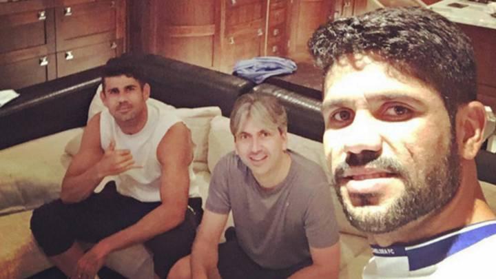 El hermano de Diego Costa crea confusión por su parecido