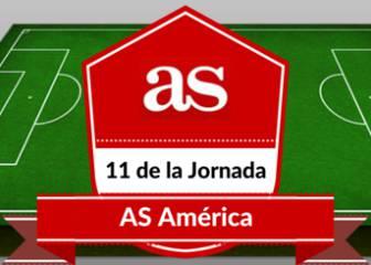 El once americano de la jornada en Europa para AS América