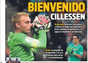 Prensa barcelonesa: Cillessen, Neymar, Alcácer y los Juegos
