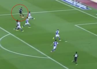 Las variantes tácticas que ofreció Morata en Anoeta