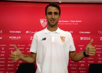 Nico Pareja amplía su contrato con el Sevilla hasta 2019