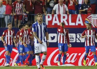 Simeone pide calidad y concentración ante el gol