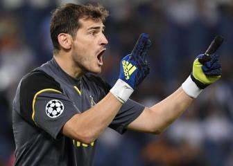 Casillas jugará la 18ª Champions y puede ser rival del Madrid