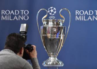 Sólo cuatro equipos españoles estarán en el bombo del sorteo
