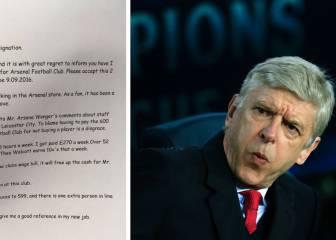 Un empleado del Arsenal dimite para que Wenger pueda fichar