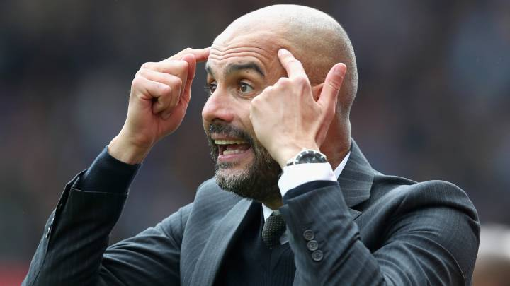 "Guardiola: ""Kun no será brillante si desaparece sin la pelota"""