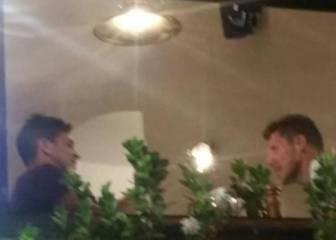 Simeone viajó ayer a Génova y cenó con su hijo Giovanni