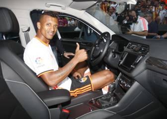 Nani fue inscrito por el Valencia en LaLiga para cumplir sanción