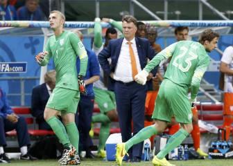 Cillessen fue humillado por Van Gaal en el Mundial de Brasil