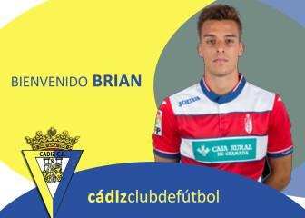 El Cádiz se refuerza con Brian Oliván, cedido por el Granada