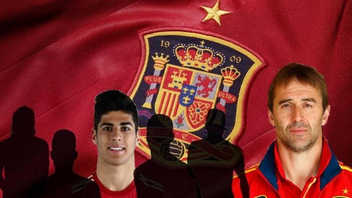Asensio y otros 5 jugadores que llaman a las puertas de La Roja