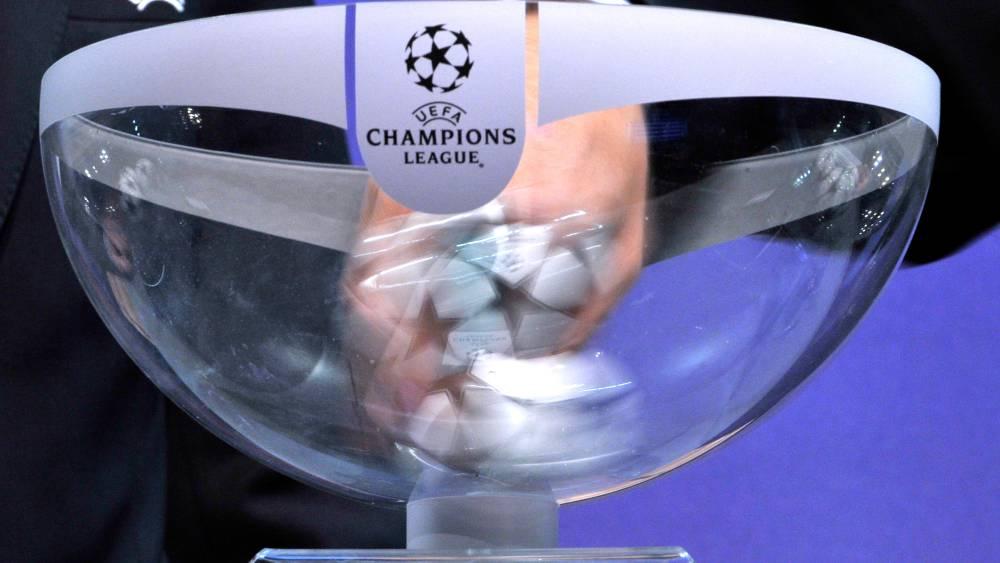 Así están los bombos para el sorteo de la Champions