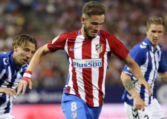 Saúl y Messi optan al mejor gol de la temporada para UEFA