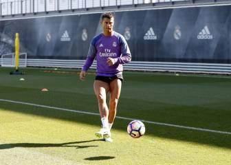 Cristiano aumenta el ritmo; Ramos y Bale vuelven al grupo