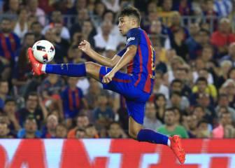 Munir llegará cedido al Celta si el Barcelona ficha a Alcácer