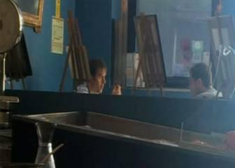 Julen Lopetegui comió ayer con Iker Casillas en Oporto