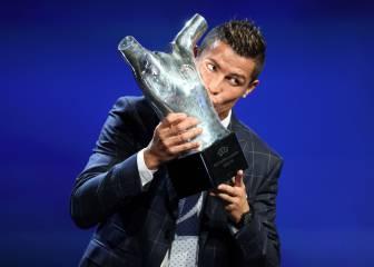 Cristiano: Mejor Jugador de Europa del año para UEFA