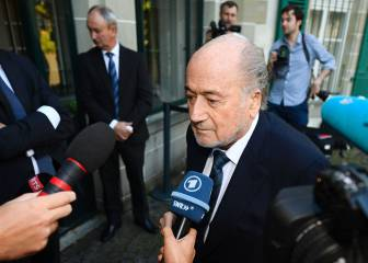 Blatter declara ante el TAS por los 2 millones pagados a Platini