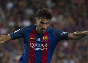André Gomes, listo para su debut como culé en la Liga