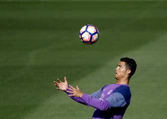 Cristiano y Bale se entrenan antes de viajar a Mónaco