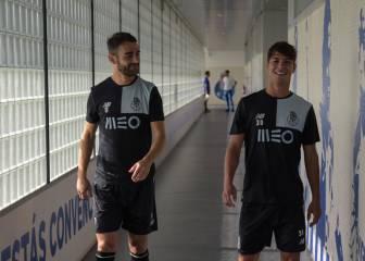 Oliver ya se ejercita con el Oporto con vistas al clásico