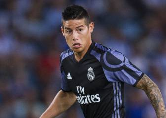 James could play his last game for Madrid against Celta
