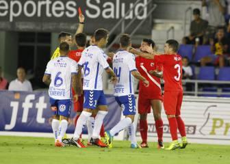 Tenerife y Sevilla Atlético empatan en un vibrante partido