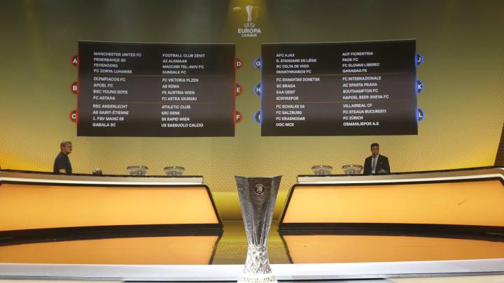Calendario de la Fase de Grupos de la Europa League
