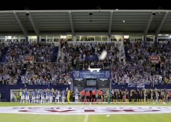 Leganés-Atlético de Madrid en imágenes