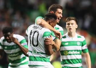 El Celtic, primer rival del Barcelona, vuelve a golear en liga